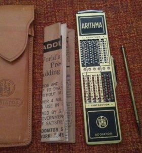 Addiator калькулятор раритет коллекция