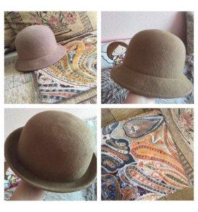 Шляпка фетровая новая