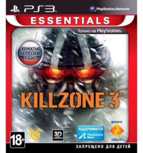 Игра для PS3 медиа Killzone 3 Essentialls