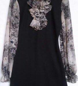 Платье Черное Турция 44-46
