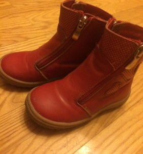 Ботинки для девочки димемезон