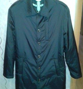 Мужская удлиненная куртка весна-осень