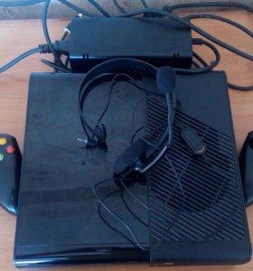 Xbox 360,500Gb+ 4 игры лицензия