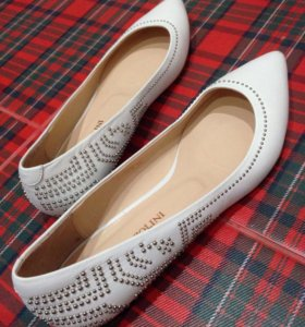 Балетки-туфли для невесты