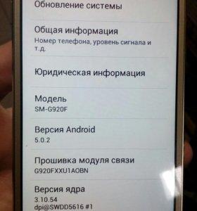 Телефон Samsung SM-G920F