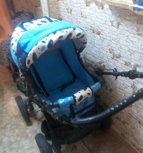 Детская коляска, зима-лето