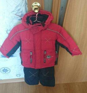 Куртка и комбинезон на весну