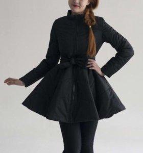 Курточка с юбочкой( пуховик)