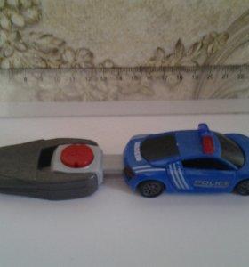 Машина с ключом