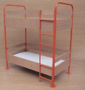 Кровать детская двухьярусная