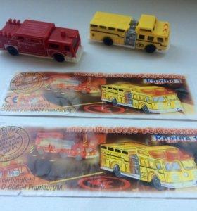 Пожарные машинки