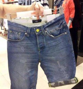 Шорты джинсовые мужские новые