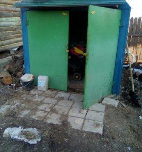 Железный мини гараж