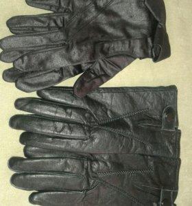 Новые Женские перчатки кожаные и легкие весенние.