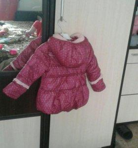 Продам куртку для девочки.