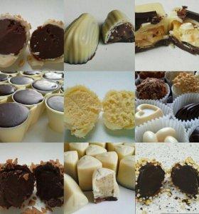 Шоколадные конфеты и трюфели