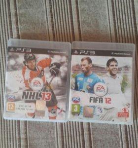 Fifa и NHL ps3 одним лотом