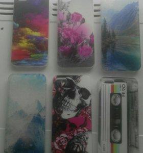 Чехлы и стекла на айфон 5 5s