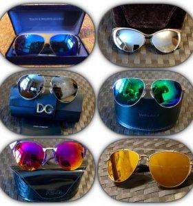 Солнцезащитные очки Fendi,D&G,Mykita