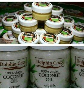 Натуральное масло кокоса и ШИ( карите)