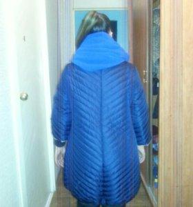 пальто женское + шарф  реальному покупателю скидка
