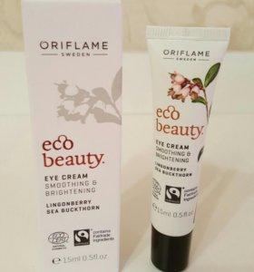Разглаживающий крем для кожи вокруг глаз Ecobeaute