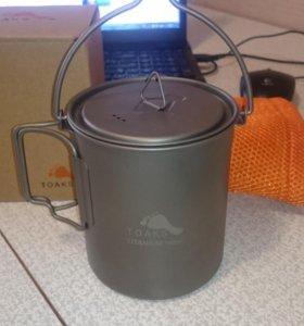 Котелок Toaks Titanium Pot 750мл