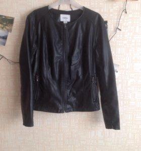 Кожаная куртка Ostin