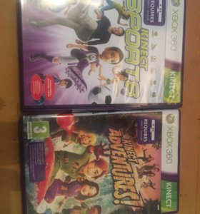 Kinect Sports & Kinect Adventures! XBOX 360