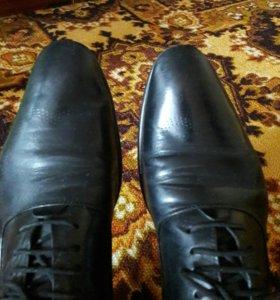 Туфли натуральный кожа