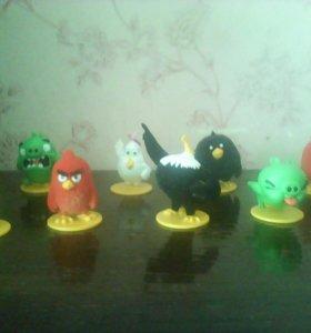 Коллекция злых. Птичек