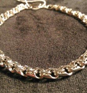 Серебренние браслет