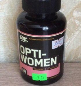 Optimum Nutrition, Opti-Women, 26 капсул