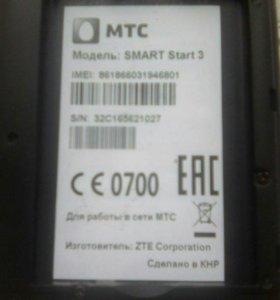 Смартфон мтс смарт старт 3