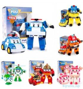 Машинки-Трансформеры Robocar Poli