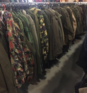 Военная одежда импортного производства б/у