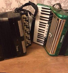 Баян гармонь аккордеон