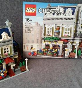 LEGO CREATOR EXPERT Парижский Ресторан 10243