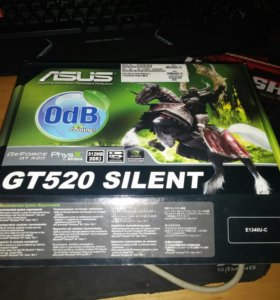 Видеокарта Asus GT 520 Silent