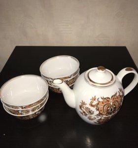 Чайный сервиз в восточном стиле