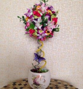 Декоративное дерево- топиарий