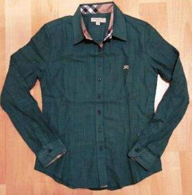 Рубашка Burberry, новая. 40-42р. Хлопок