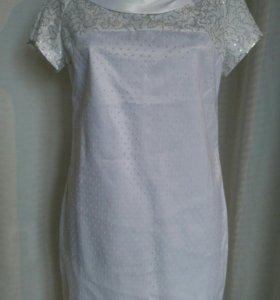 Нарядное платье_свадебное (М, новое)