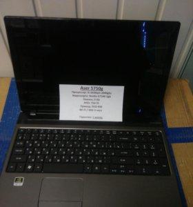 Ноутбук игровой Acer 5750g