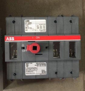 Рубильник ABB 160A