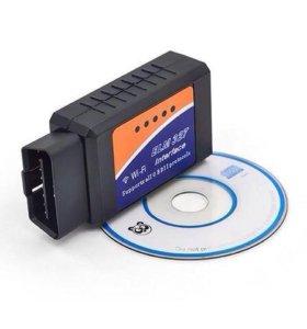Wi-Fi адаптер ELM327 v. 1.5 для диагностики авто