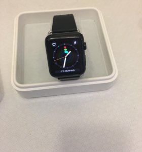 Apple Watch 42mm,series 1, stainless steel, blak