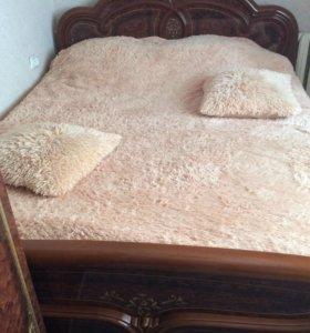 Продам кровать и шкаф