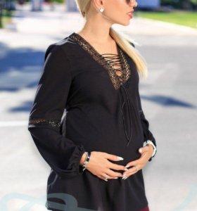 Свободная туника для беременной