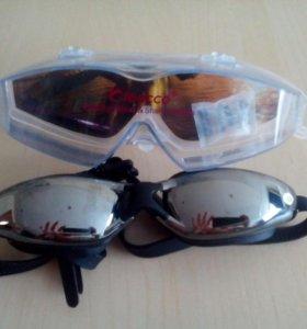 Очки для плавания с диоптрией(-3)